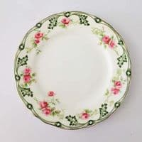 Aynsley China - Rose  - Plate Bundle - 9 Pieces - 1909 -  RD 549912